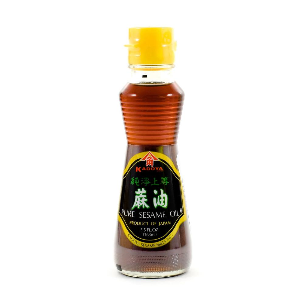 Óleo de Gergelim  Japonês Puro Kadoya - 163mL