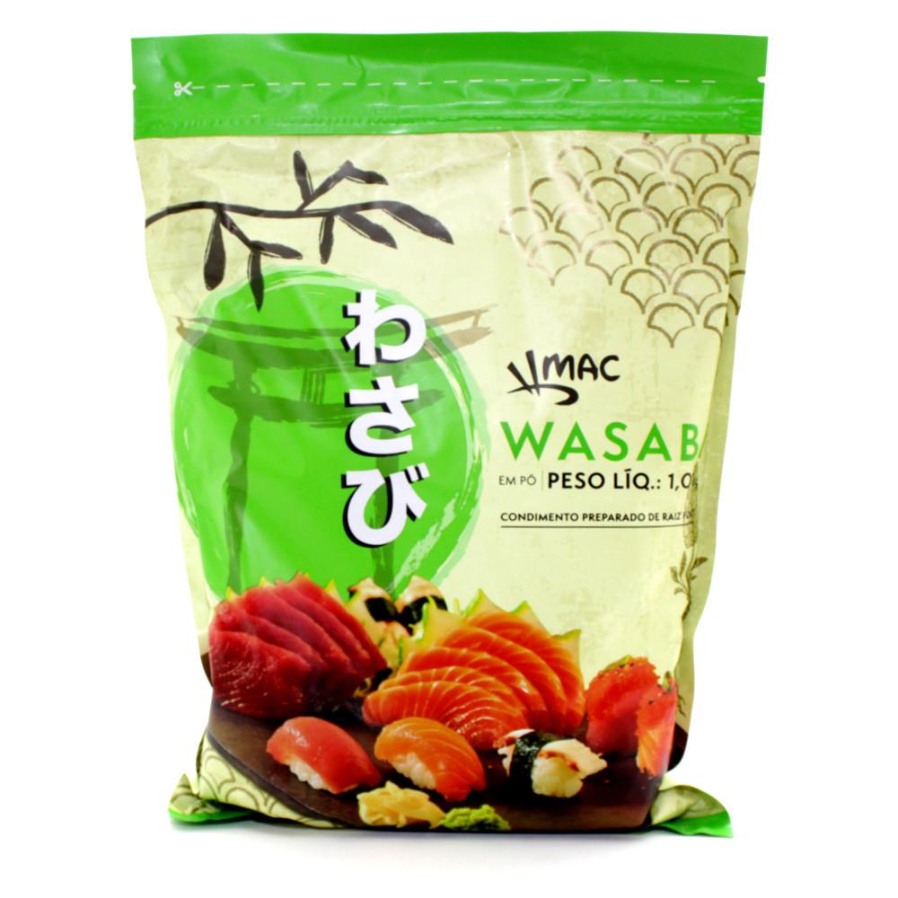 Pimenta Wasabi em Pó (Raiz Forte) MAC - 1,01 Kg