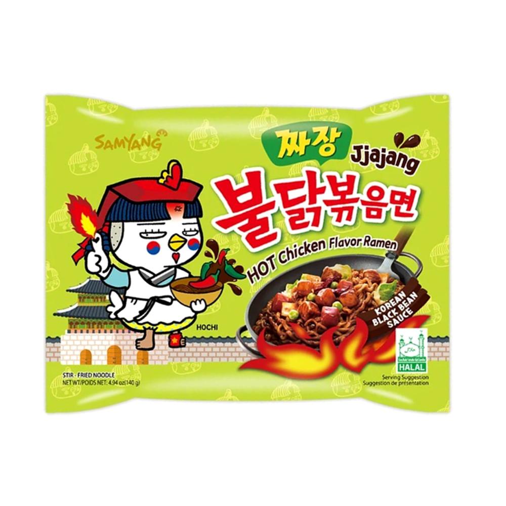 Lamen Coreano Super Picante Hot Chicken Flavor Ramen Sabor Frango Jjajang - 130g
