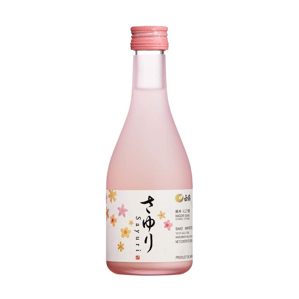 Saquê Licoroso Japonês Especial Sayuri Nigori Hakutsuru - 300mL