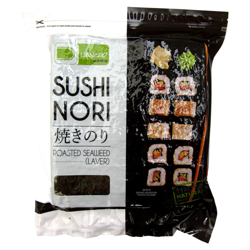 Alga Marinha Sushinori para Sushi e Temaki 50 Folhas - 140g