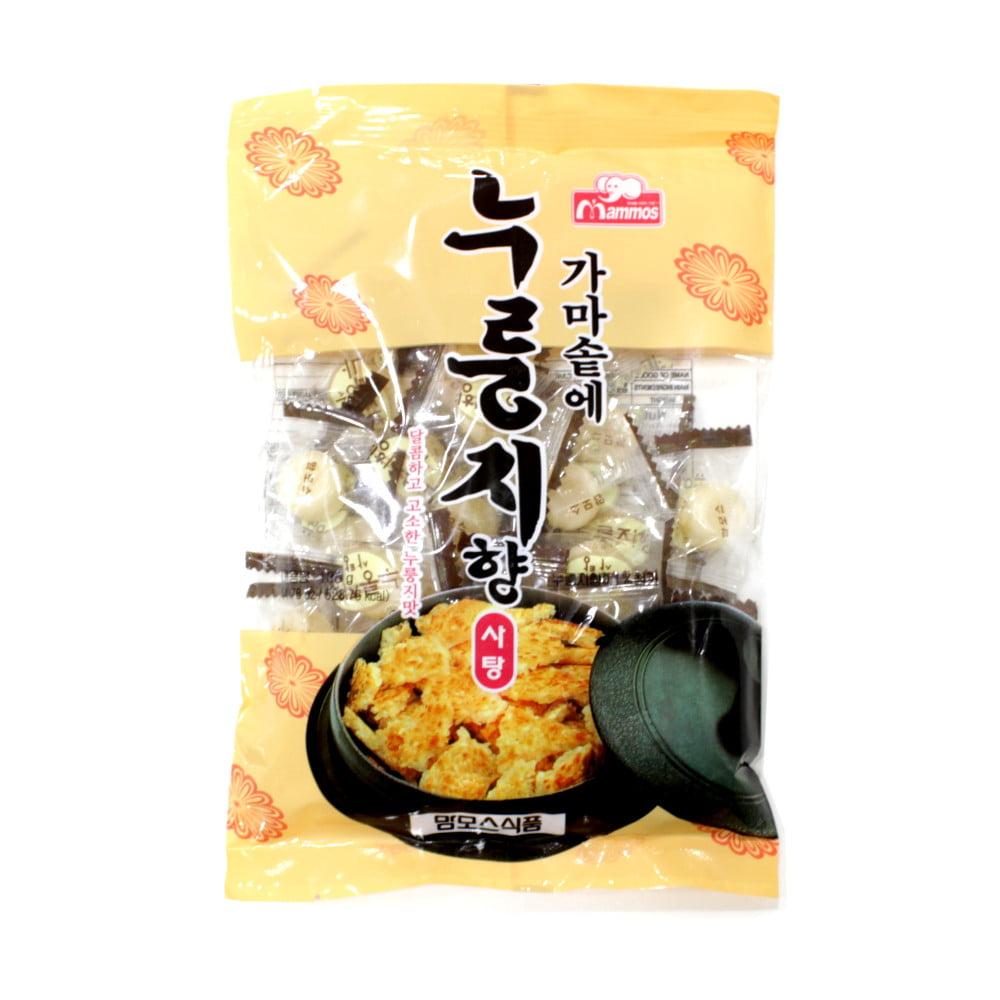 Bala Coreana Sabor Arroz Torrado Mammos - 100 gramas