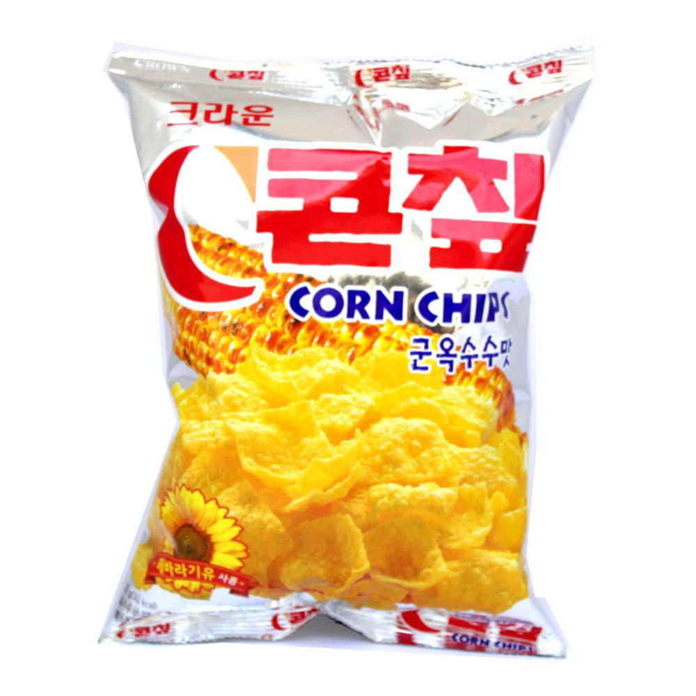 Salgadinho Coreano de Milho Corn Chips - 70 gramas