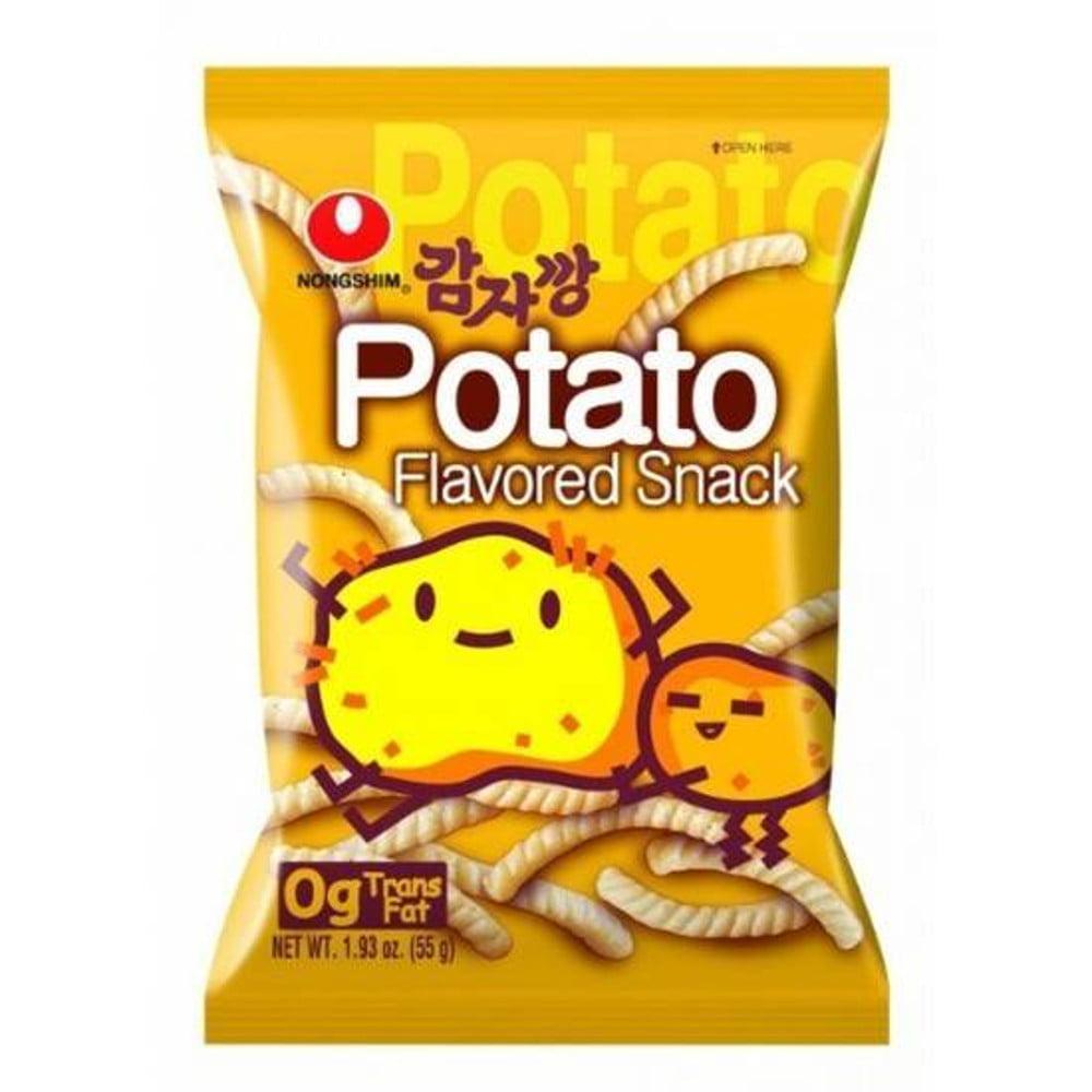 Salgadinho Coreano Batata Potato Snack - 55 gramas