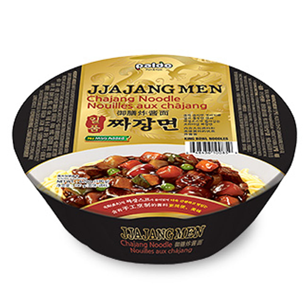 Lamen Coreano Jjajangmen Tipo Chajangmen Paldo Copo - 190 gramas