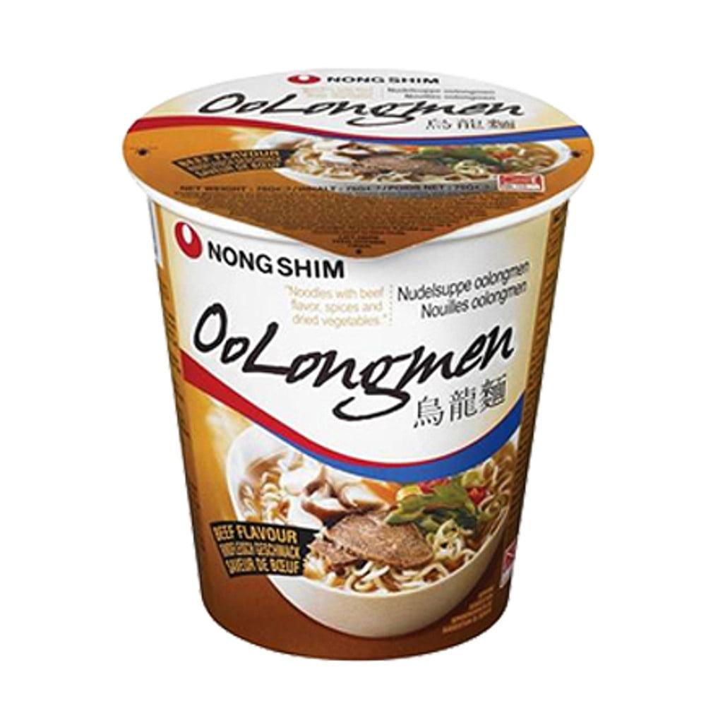 Macarrão Lamen Coreano Oolongmen Sabor Carne Copo - 75g