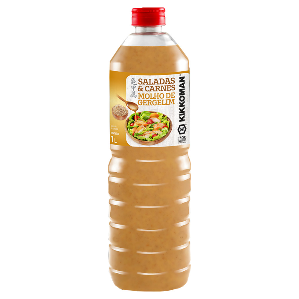 Molho de Gergelim para Saladas e Carnes Kikkoman - 1000 mL