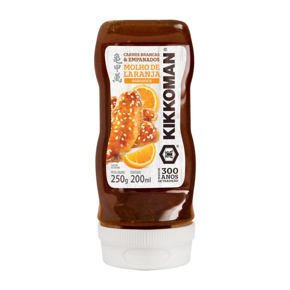 Molho de Laranja para Empanados e Carnes Brancas Kikkoman - 250g