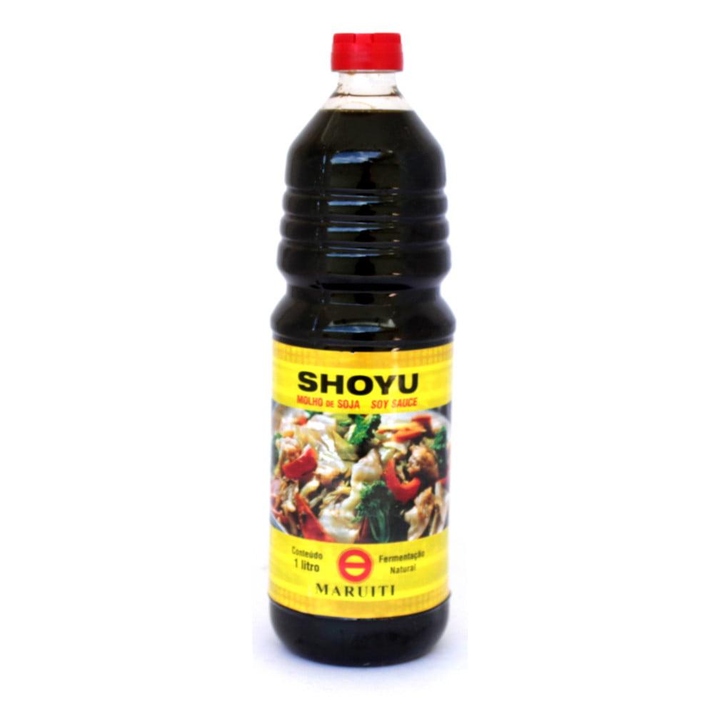 Molho de Soja Shoyu Maruiti Fermentação Natural - 1000 mL