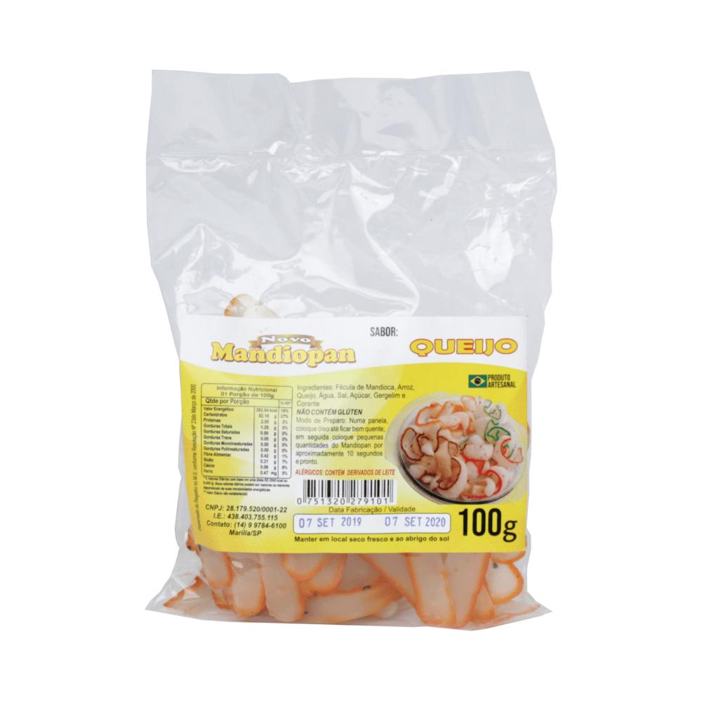 Salgadinho Mandiopan Sabor Queijo - 100 gramas