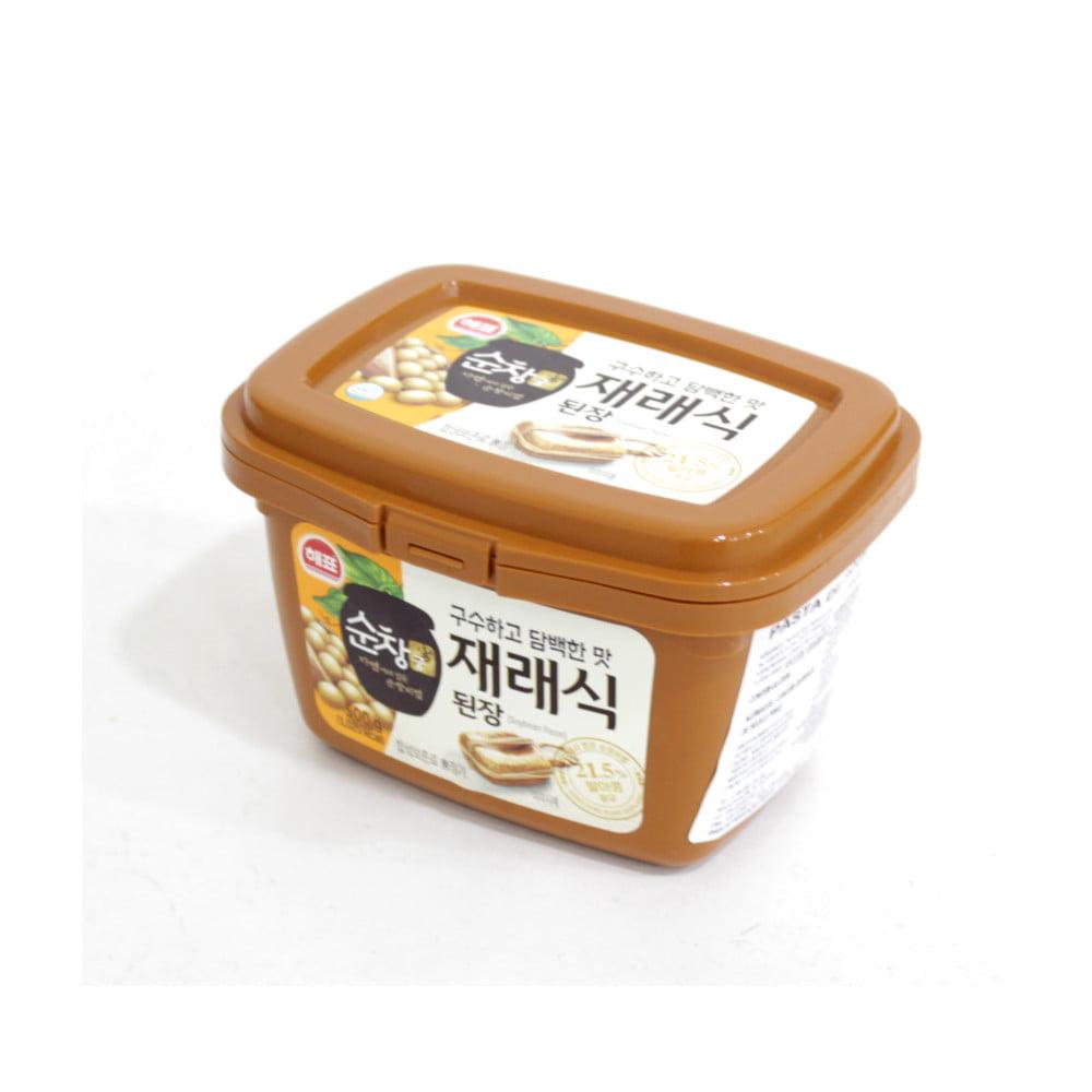 Pasta de Soja Coreana Doejang Sajo - 500 Gramas