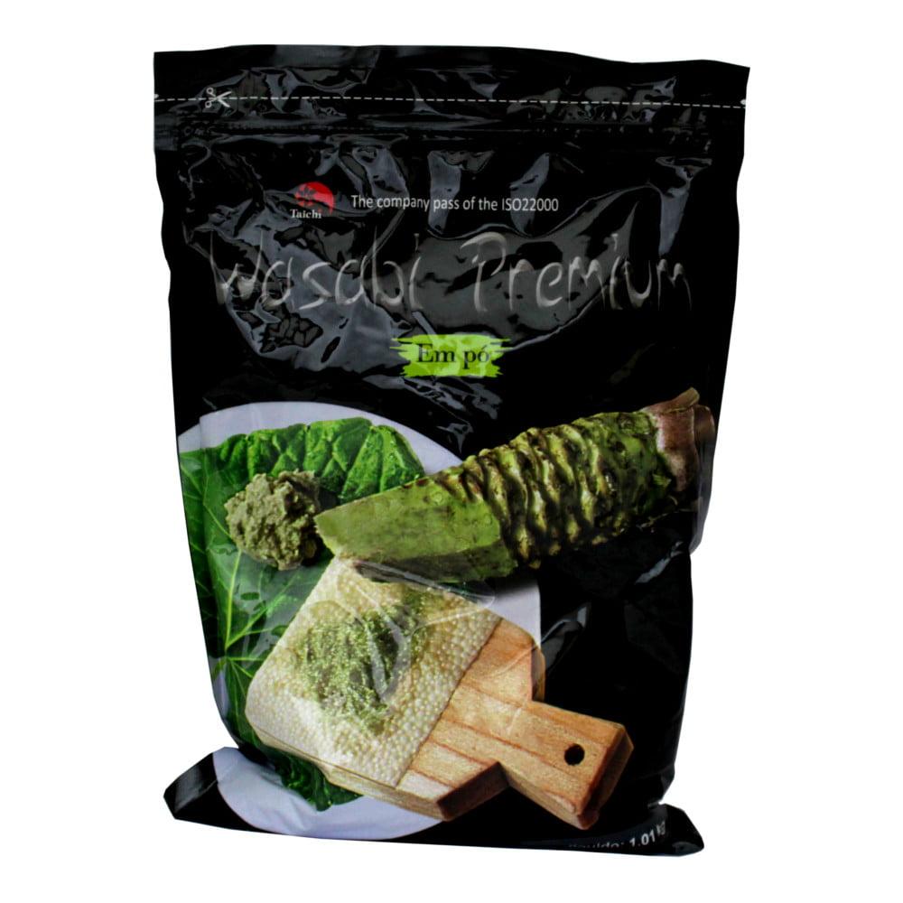 Pimenta Wasabi em Pó (Raiz Forte) Taichi Premium Quality - 1 Kg