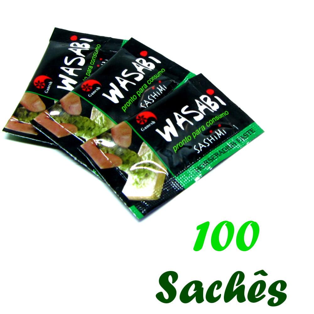 Pimenta Wasabi (Raiz Forte) em Sachê Ganesh - 100 unidades