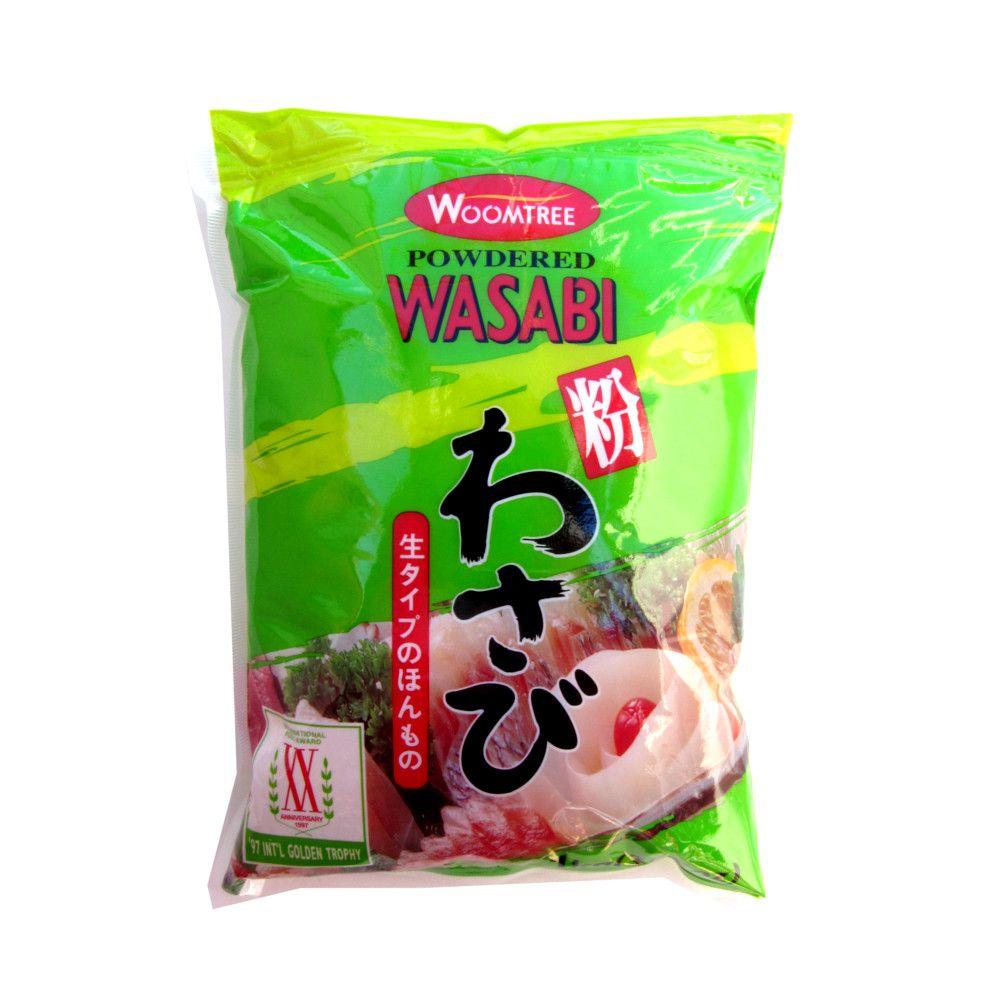 Raiz Forte Pimenta Wasabi em Pó Woomtree – 1 Kg