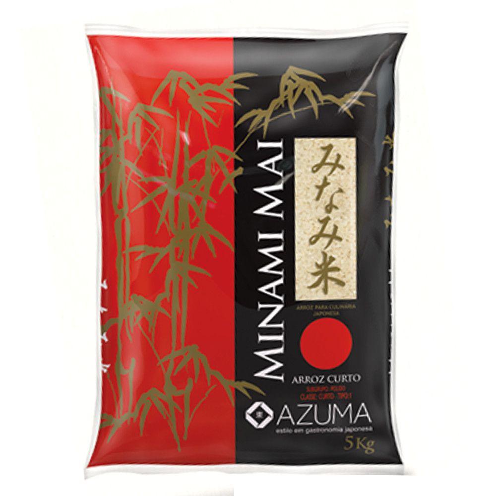 Arroz Minami Mai Curto Azuma - 5Kg