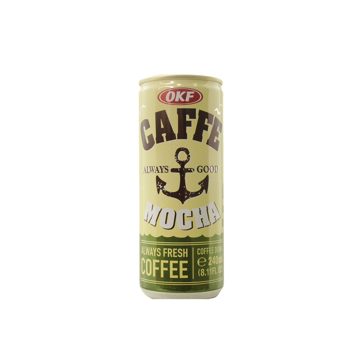 Café Coreano com Leite - Caffe Mocha Premium OKF - 240mL