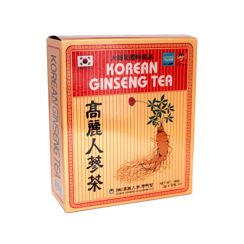 Korean Ginseng Tea - 50 sachês