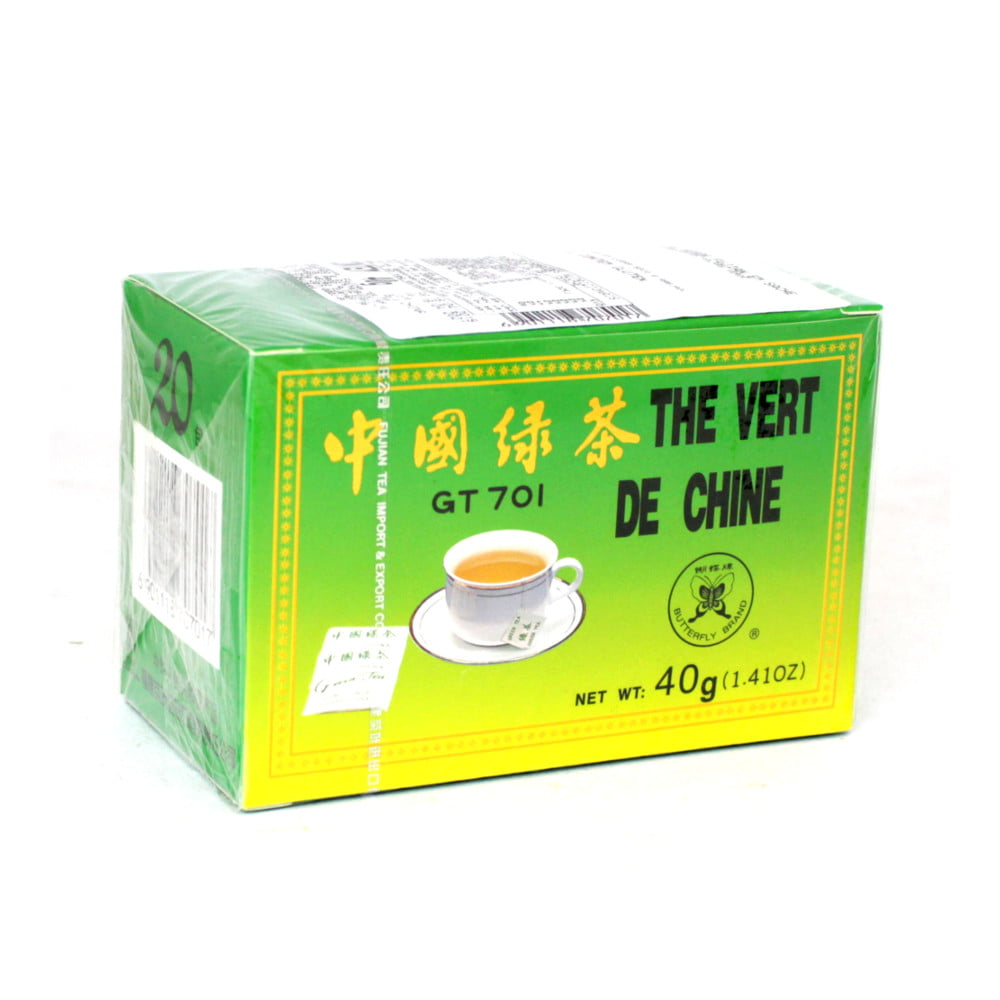 Chá Verde Fujian - 20 Sachês (40gramas)