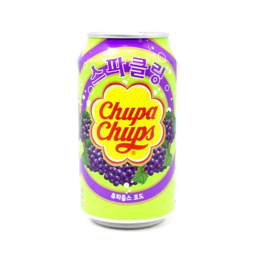 Refrigerante Coreano Sabor Uva Chupa Chups - 345mL