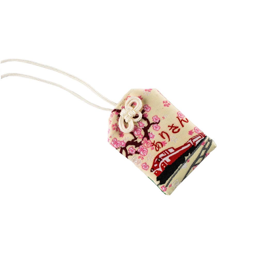 Omamori Amuleto Oriental Trem - Creme