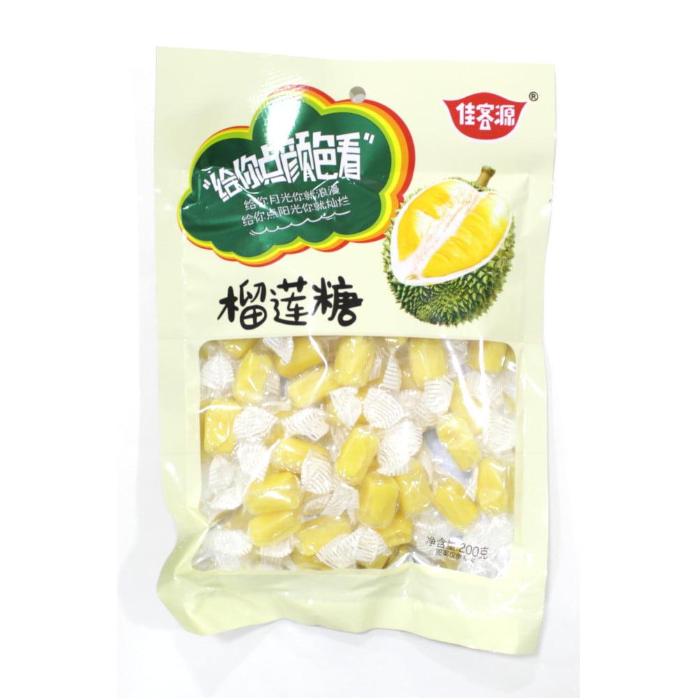 Bala de Jaca Durian Candy Chinesa - 200 gramas