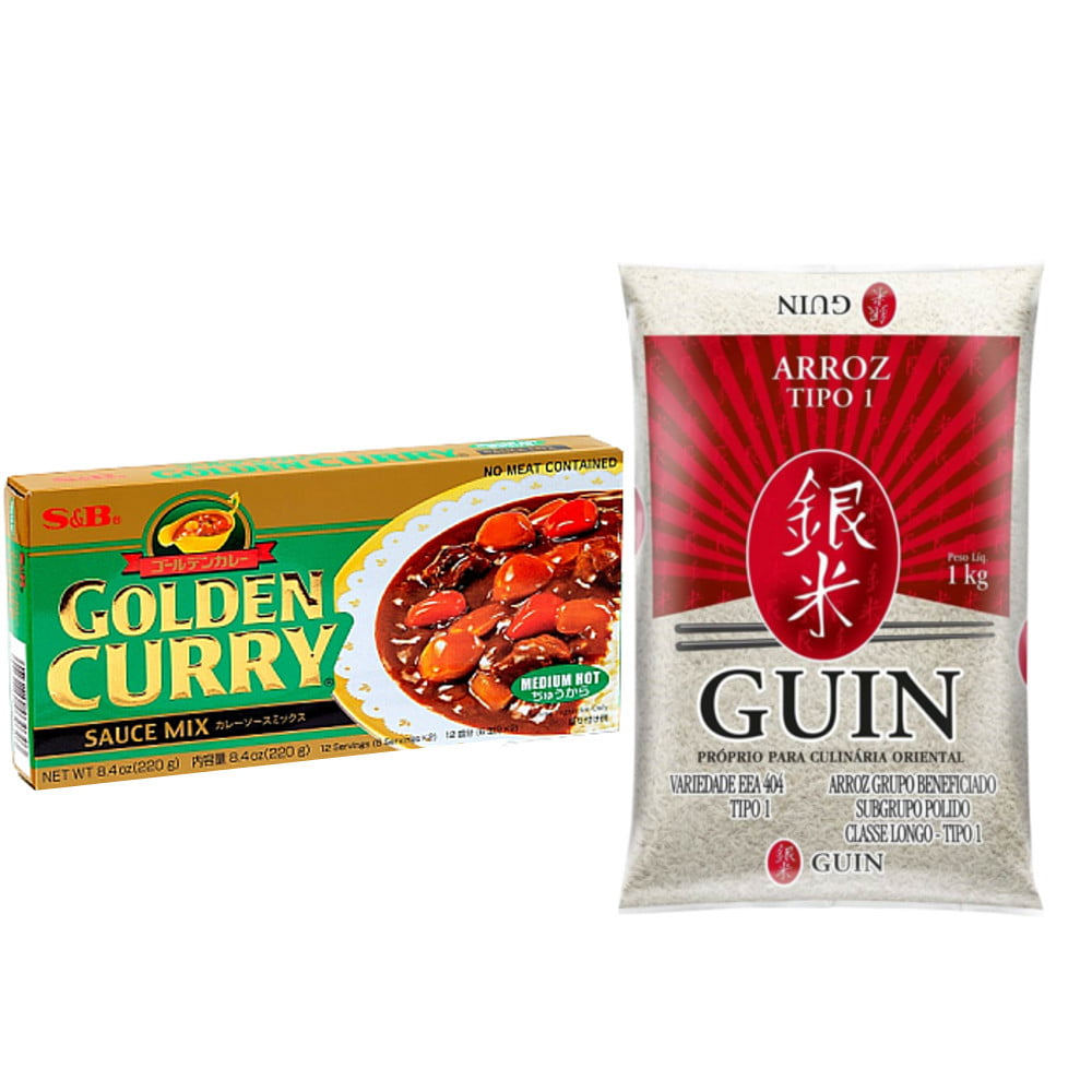 Kit para preparo do Prato Japonês Karê Curry - Chucara