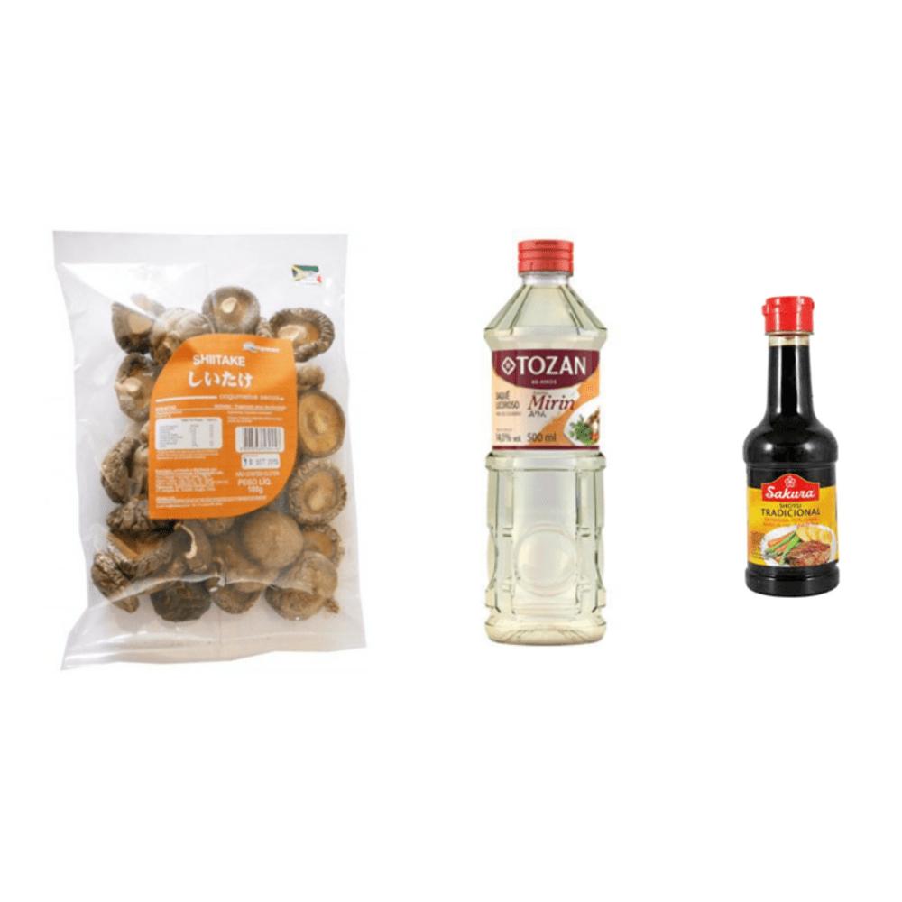 Kit para Preparo do Prato Shitake Na Manteiga