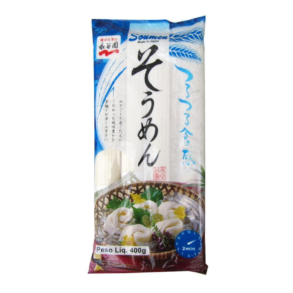 Macarrão Somen Japonês Nagatanien - 400 gramas
