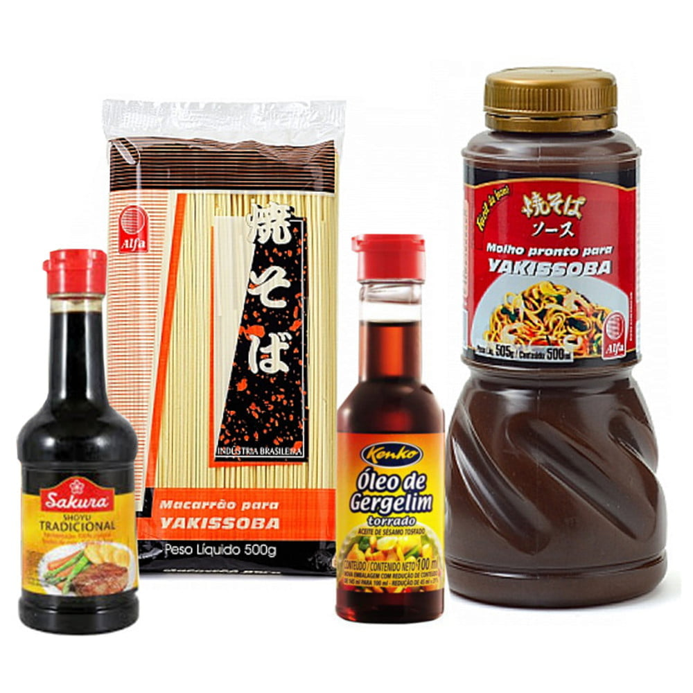 Kit Oriental para Preparo do Prato Yakissoba