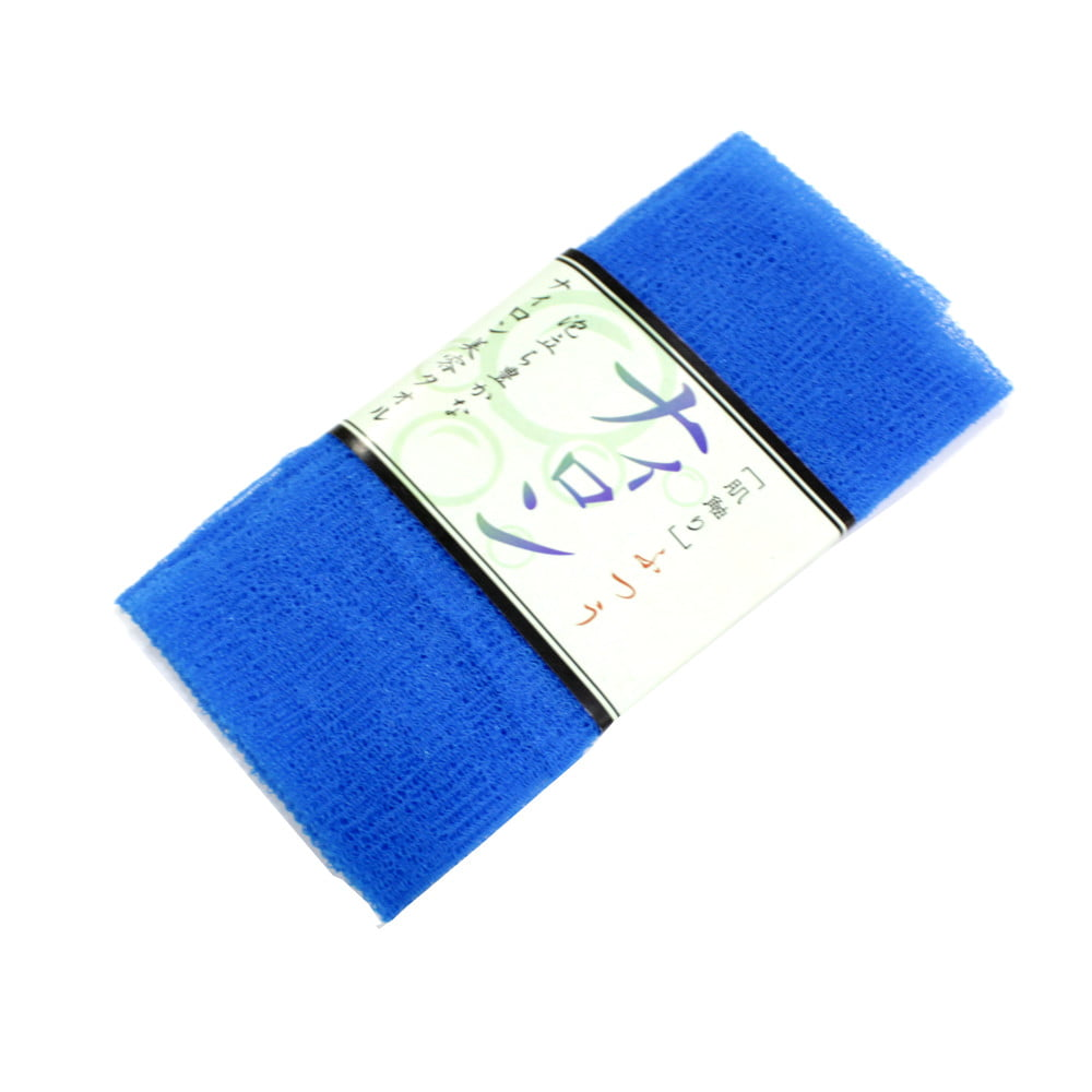 Toalha de banho Esponja de Plástico Azul - Bucha