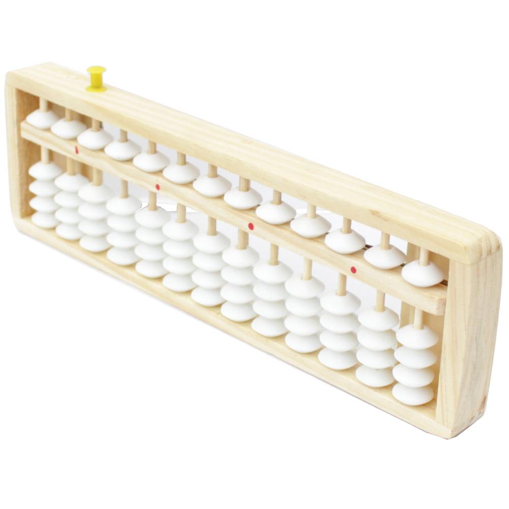Soroban Ábaco Zerador Madeira Calculadora Japonês - 13 Dígitos