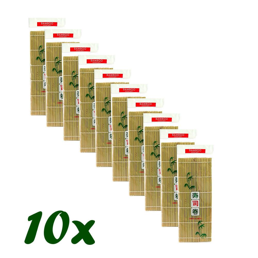 Esteira para Sushi Bambu Sudare - 10 Unidades