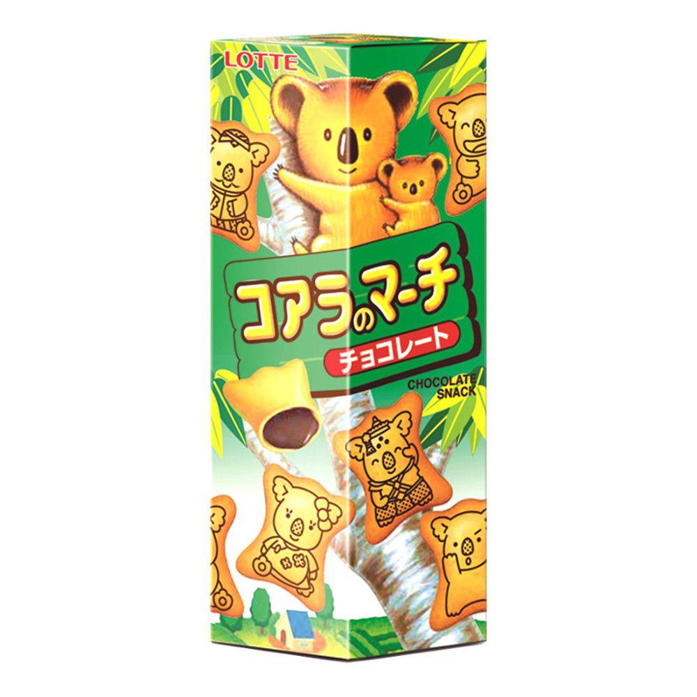 Biscoito Koala com Recheio de Chocolate Lotte - 37 gramas