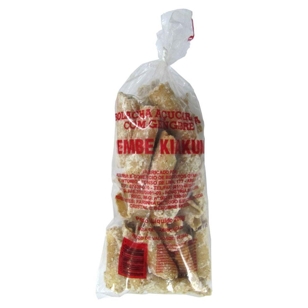 Bolacha Sembe Kiakuni Gengibre - 200 gramas