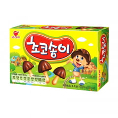 Biscoito com Cobertura de Chocolate Zangle Formato Cogumelo Orion - 50 gramas