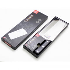 Faca Oriental Cutelo Grande Multiuso Inox para Cortes em Geral Select Master - 32x10cm