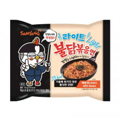 Lamen Coreano Buldak Light Hot Chicken Flavor Ramen Sabor Frango - 110g
