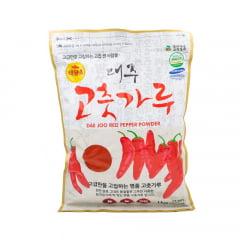 Pimenta Vermelha Premium em pó Fina Gochugaru Dae Joo - 1 Kg