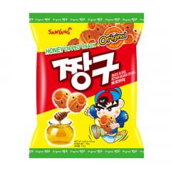 Salgadinho Coreano Agridoce Mel e Canela Chang Gu -115 gramas