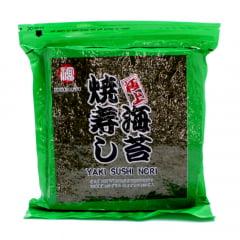 Alga Nori para Sushi e Temaki com 50 Folhas Fukumatsu - 140 gramas