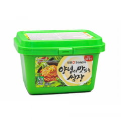 Pasta de Soja Temperada Coreana Ssamjang Sempio - 500 Gramas