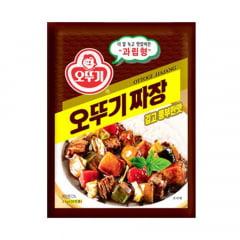 Molho de Soja Preta Coreano em pó Jjajang Ottogi - 100 gramas