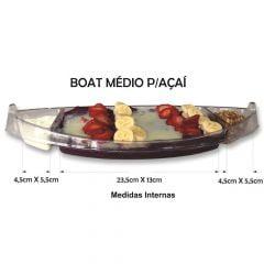 Barco para Açaí Descartável Boat 39cm - 100 unidades