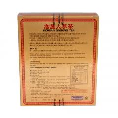 Kit Chá Coreano Korean Ginseng Tea 50 sachês - 3 Caixas