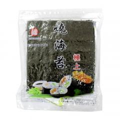Nori Alga para Sushi e Temaki com 50 Folhas Fukumatsu - 140 gramas
