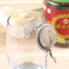 Infusor de Chá e Especiarias Aço Inox Kehome - 4,5cm