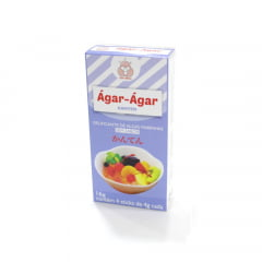 Ágar-Ágar Gelatina de Algas em pó Kanten San Maru - 16 gramas