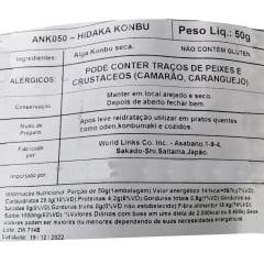 Alga Marinha Hidaka Kombu - 50 gramas
