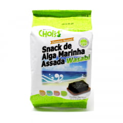 Alga Marinha Temperada e Assada Wasabi Chois - 10 gramas