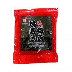 Nori Alga para Sushi e Temaki com 50 Folhas Rubi Fukumatsu - 140 gramas